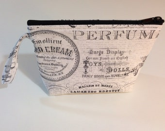 Parisian Make Up Bag - Accessory - Cosmetic Bag