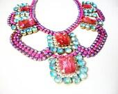H A B B Y  Fuchsia Jewelry
