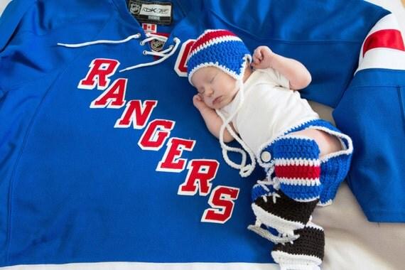 BABY BOY CLOTHES Crochet Hockey Baby Newborn Hockey Hat