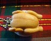 Roasted Turkey Necklace