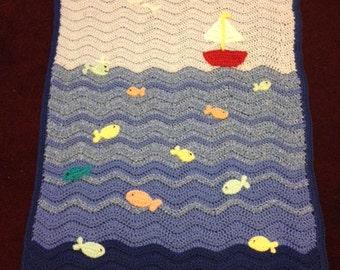 Crochet sailboat Etsy