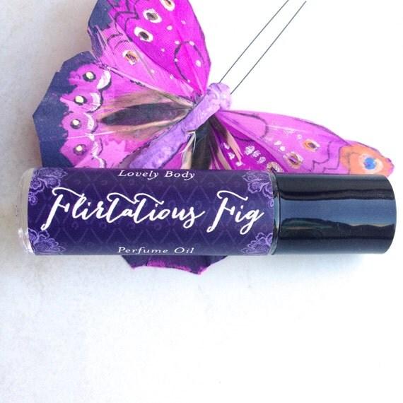 Flirtatious Fig Perfume Oil Exotic Fresh Figs Lemon By Lovelybody 1