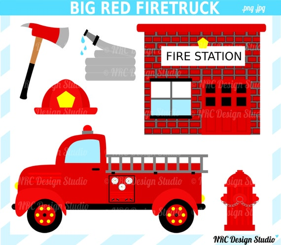 clip art of fire station - photo #8