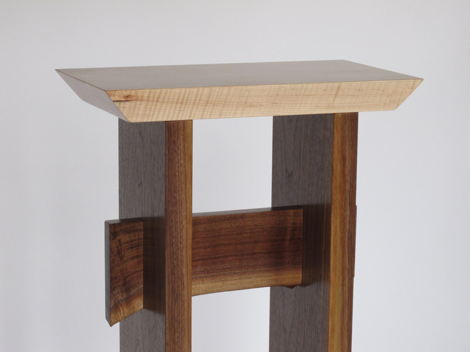 Small narrow table custom furniture wood entry table small Small entryway table