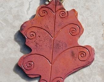 Oak leaf  decoration