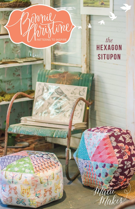 Hexagon Situpon - PDF Pattern