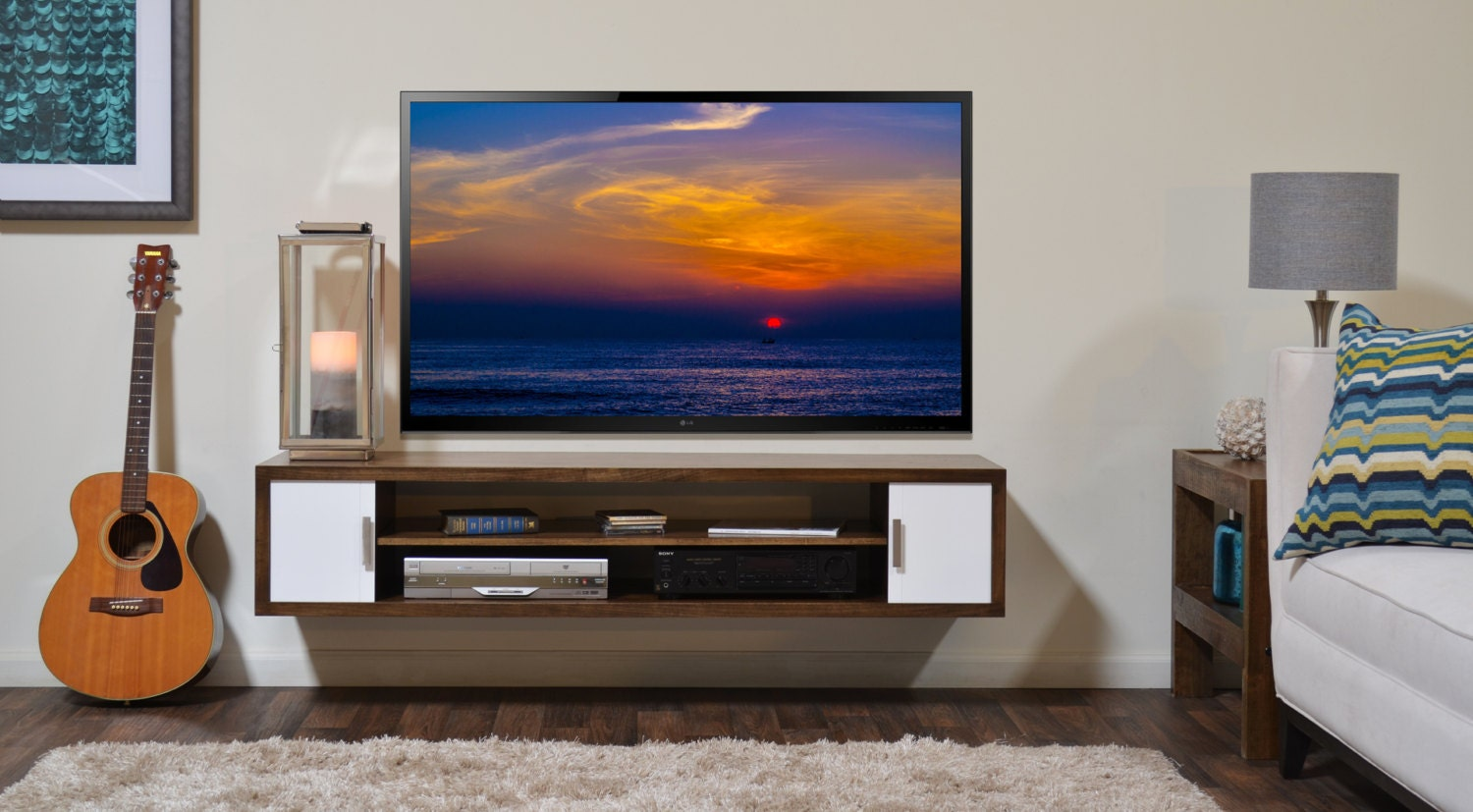 Image Result For Swivel Wall Mount Tv Stand With Shelf