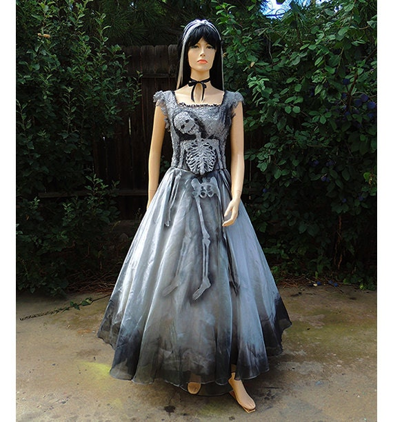 Skeleton Dress // Zombie Costume// Prom Queen // Beauty Queen