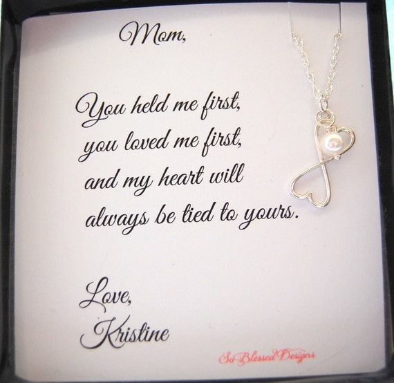 Gift Ideas For Mother To Give Daughter On Wedding Day : ... gift for Mom, MOM Necklace,To MOM from Daughter, Mothers POEM
