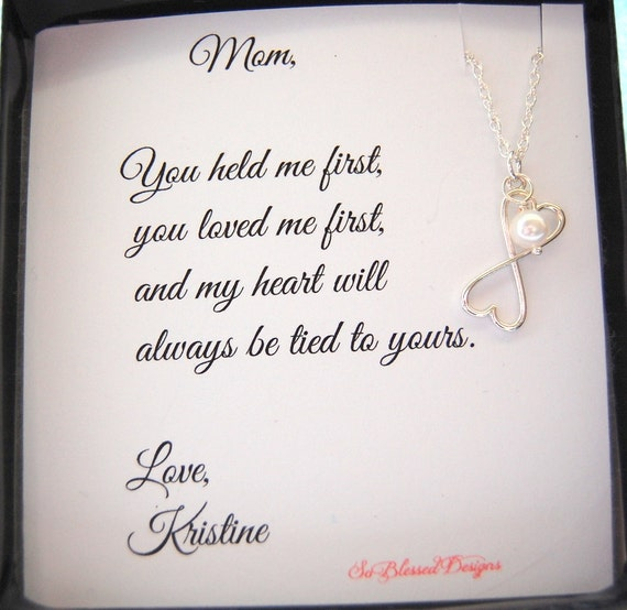 Special Gift From Mother To Daughter For Wedding : ... MOM Necklace,To MOM from Daughter, Mothers POEM, Birthday gift for Mom