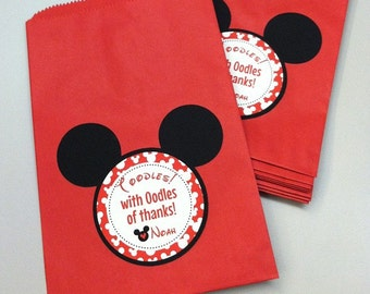 Mickey mouse favors   Etsy