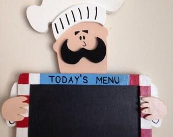 Chalkboard Meal Sign