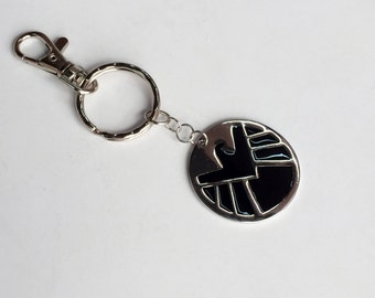 Marvel Agents of S.H.I.E.L.D. Key Chain Bag Charm, Superhero, Avengers KC51