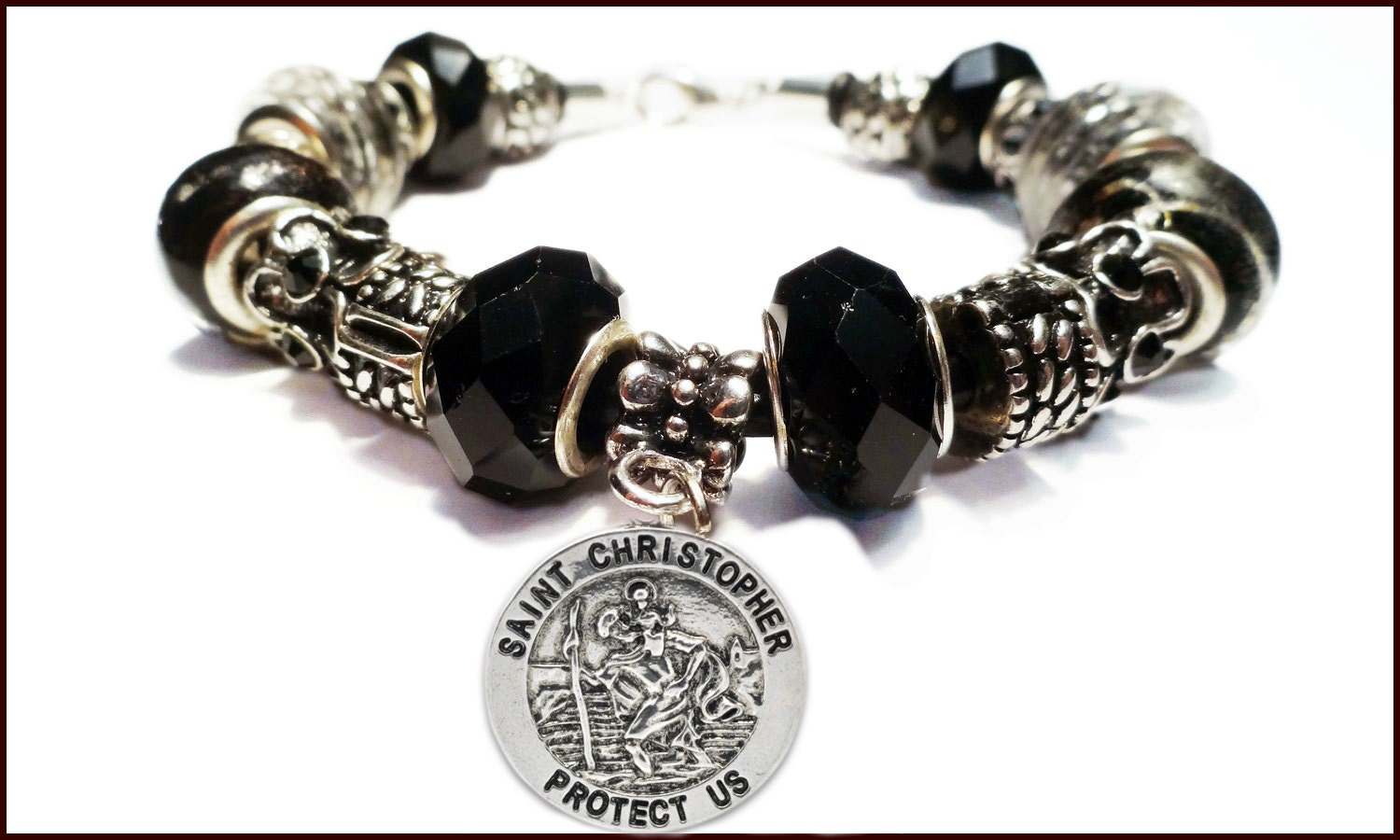 christopher charm bracelet with european style