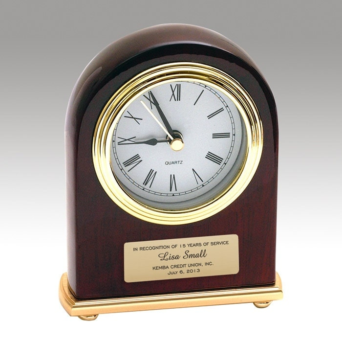personalized desk clock with alarm is helpful reminder to