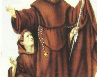 San Francesco di Paola - Holy Picture