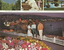 Southern California Original 1966 Vintage Ad Photos: Shirley Temple Star Walk of Fame, Wilshire Boulevard Shopping, La Brea Tar Pits, Sunset