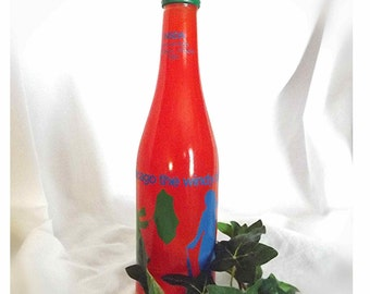 Collectible Bottle Chicago Collectible NSDA Convention Unopened Bottle Orange Soda Bottle The Windy City Soft Drink Assoc. Bottle