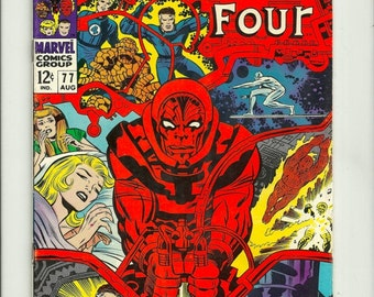 Fantastic Four No.77 - Marvel Comics Group  March 1968