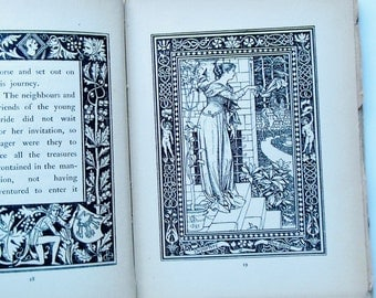Story Of Bluebeard Rare Book 1895 Illustrated