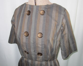 Late 1950s Jerry Gilden day dress