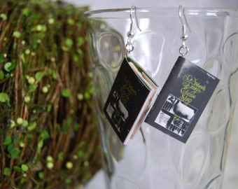 Do Androids Dream of Electric Sheep Book Earrings