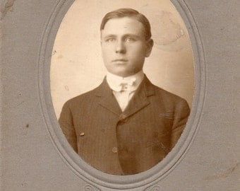 Antique Photo of Cute Young Gentleman