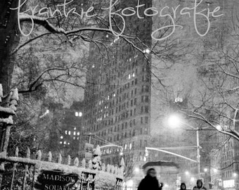 Digital Download,Madison Square Park,Black White,Flatiron,New York City Photo,NYC,City,Home Decor,City Photography, Wall Art Print