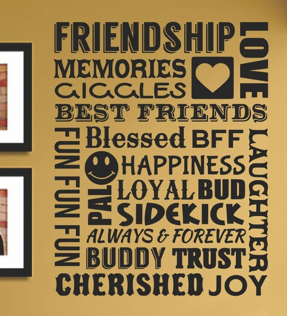 Friendship Memories Quotes: Slap-Art™ Friendship Memories Giggles Love By