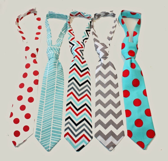 Boys' neckties tend to add an upscale feel to any look, but different styles can work for certain occasions. For example, formal ties in classy colors look best at black-tie .