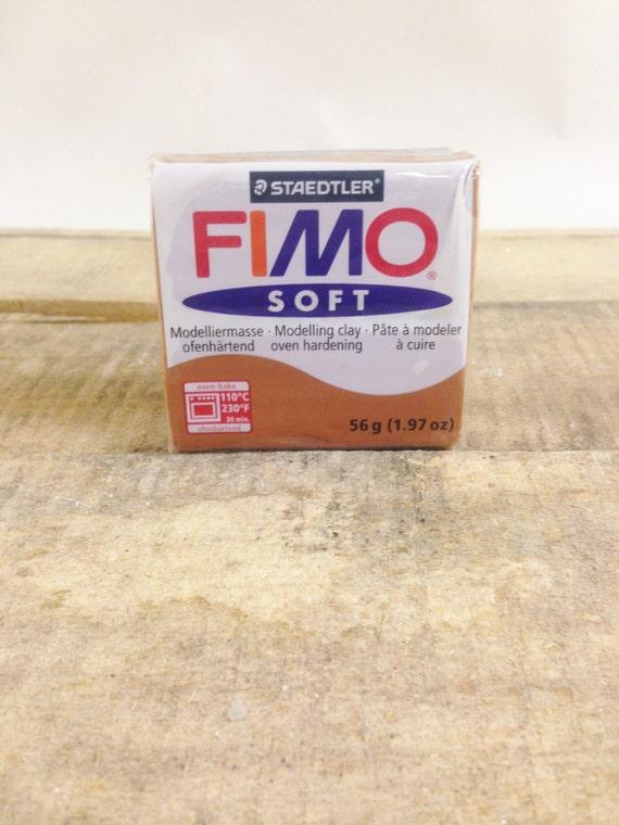 Caramel Fimo Oven Bake Polymer Clay 2oz Block