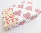Wedding decor, Stamp set, Invitation decor, Gift idea for teens, Wrapping paper, Love heart, Arrow stamp, DIY wedding Bridal supplies Custom