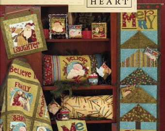 I Believe - Pattern Book by Art to Heart - Nancy Halvorsen Quilt Patterns - 15 Project Designs and so much MORE!! (W1050)