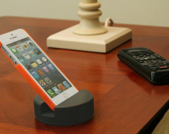Cell Phone Stand Made From A Real Hockey Puck-  iPhone / Android / Samsung Galaxy Stand - Cellphone Stand by PuckUps