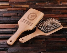 Personalized Wood Brush, Sweet-Sixteen, Sweet Fifteen, Bat Mitzvah Birthday Girl Holiday Gift Idea (024506)