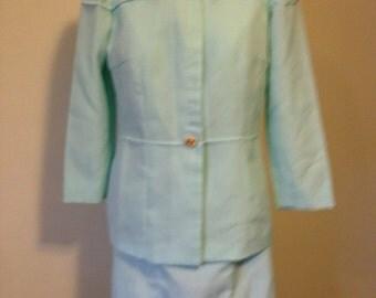 Seafoam Green Dress Suit
