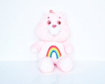 Vintage Care Bear Cheer Bear Plush
