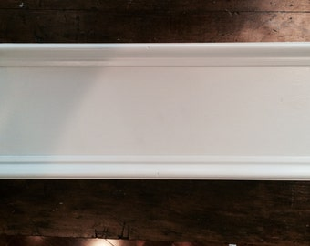 Window Box Planters with Molding