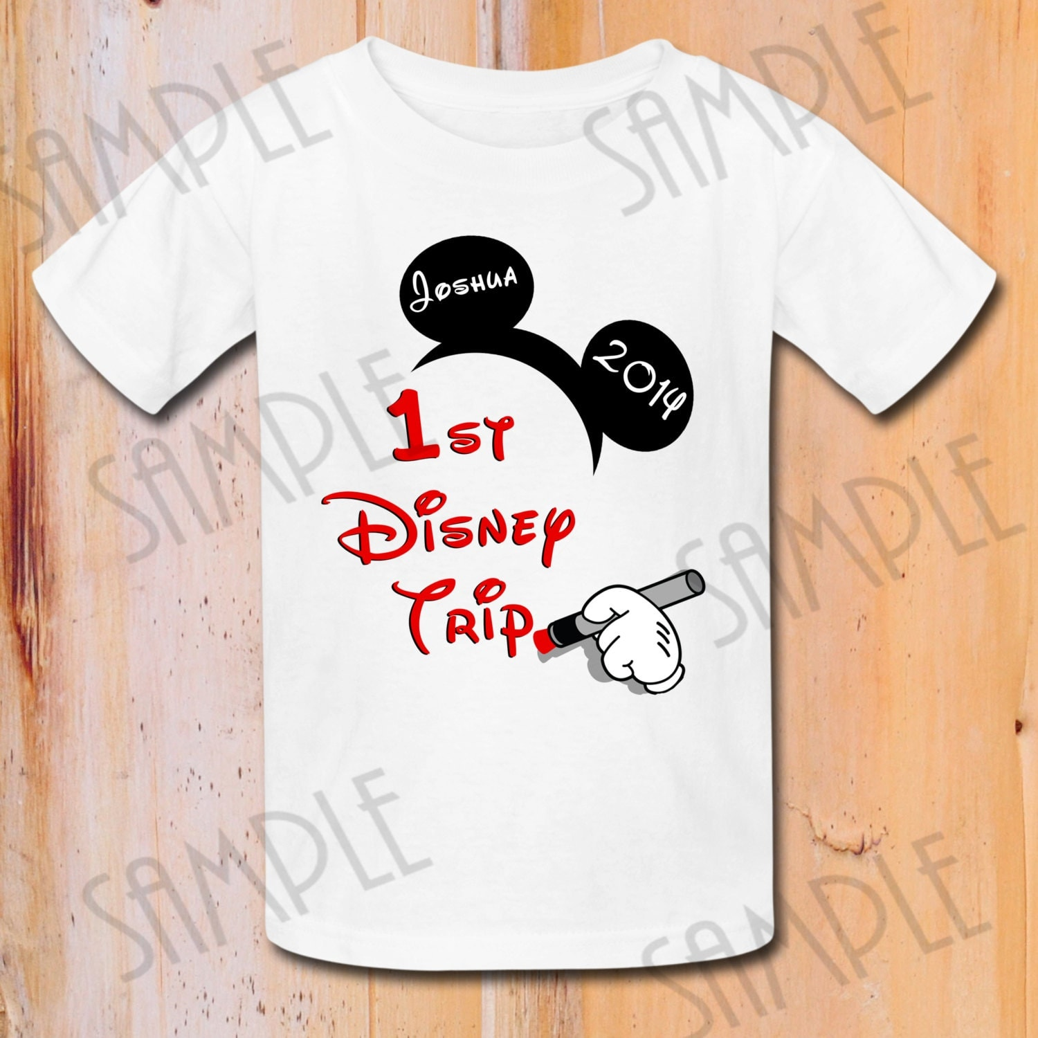 Disney Family Vacation t shirts Iron On Transfer Printable