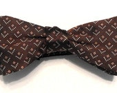 Doctor Who Style Chevron Bow Tie