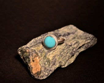 Lone Mountain Turquoise on Sterling