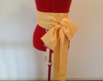 Big Bow Sash Belt