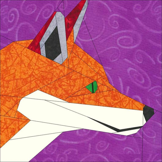 The Cunning Mr Fox- A Paper Piece Pattern