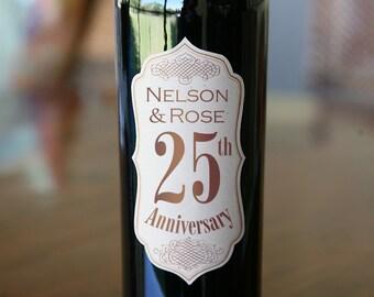 Wine Labels Wedding Custom Printed Wine Bottle Labels