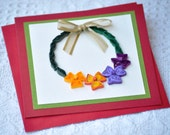 Paper Quilling Quilled Card Quilled Wreath Christmas Wreath Floral Wreath Card Holiday Card Christmas Card Quilling Art Paper Quill