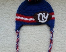 Ny Giants Crochet Afghan Pattern : Popular items for crochet ny giants on Etsy