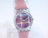 LAST ONE Vintage SWATCH Cristalle Wristwatch  New Old Stock