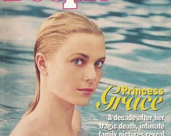 Princess Grace & Princess Caroline - 2 Vintage People Magazines
