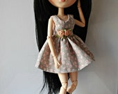 Flowers Dress for Pullip or Blythe Doll
