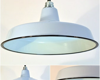 Industrial Factory Shade enamel Ceiling Lighting